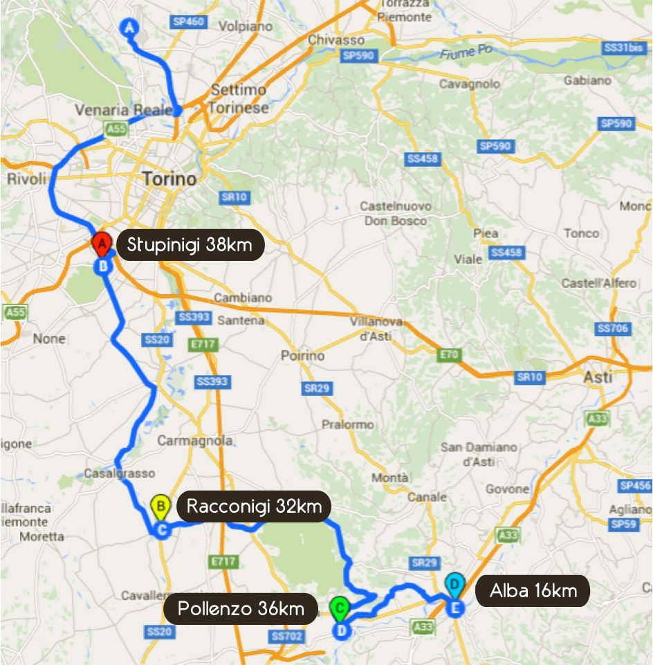 Road Book First Day Tour Barbaresco